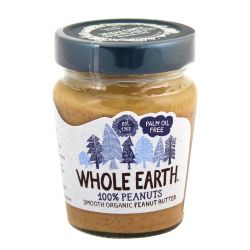 WHOLE EARTH Mantequilla cacahuete, Smooth Organic