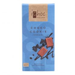 Chocolate con galleta de cacao