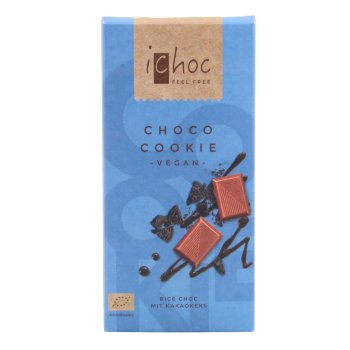 Chocolate con galleta de cacao