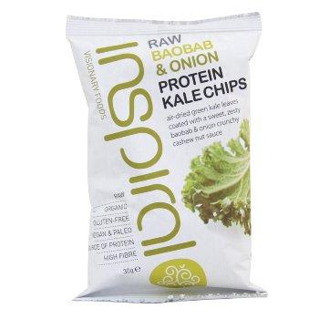 INSPIRALCrispy Baobab&Onion Kale Chips