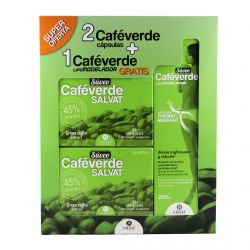 Café verde ¡¡PACK AHORRO!!.REGALO serum+drenante