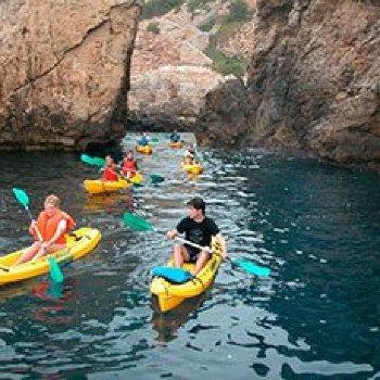 Paseo en Kayak (Mallorca)