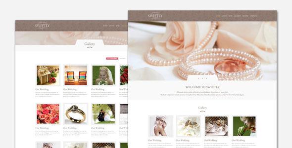 makeup artist wedding website theme