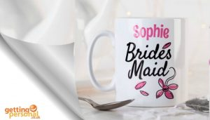 personalised gift for bridesmaid