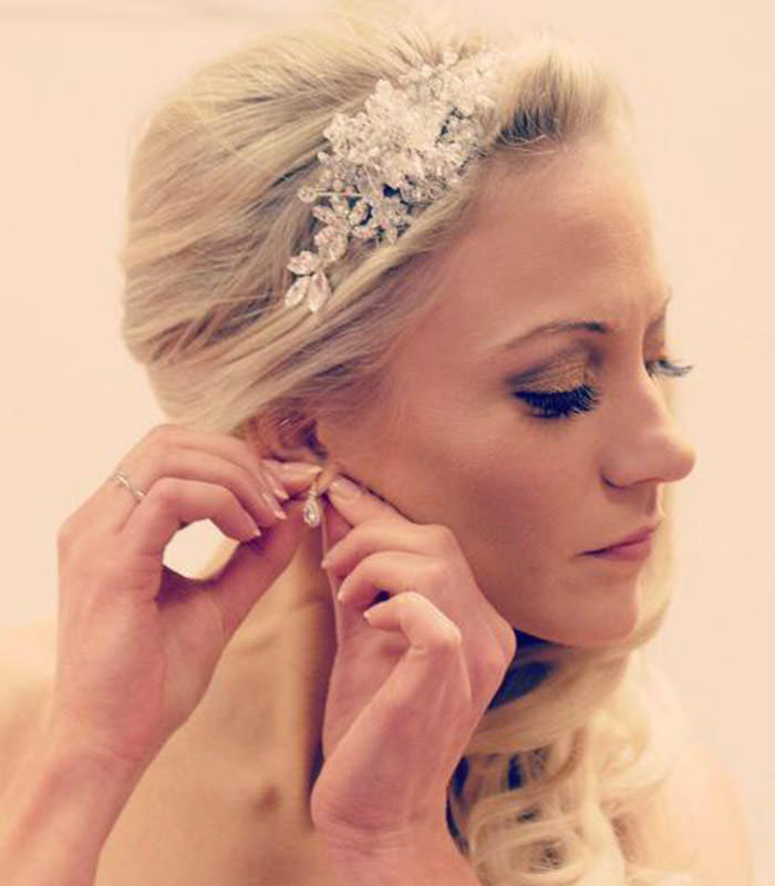 hair pieces wedding bridal