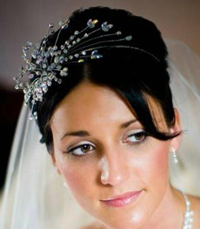 wedding hair pieces bridal