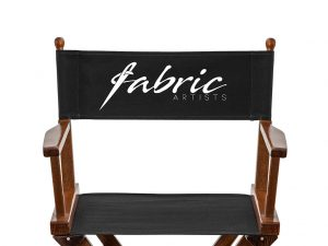 Superbe Personalized Canvas For Makeup Chair | White U0026 Pink