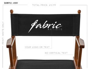 cheap personalized makeup directors chair