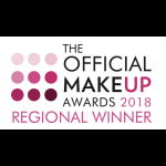 Winner of Bridal Makeup Specialist 2018 North of England!
