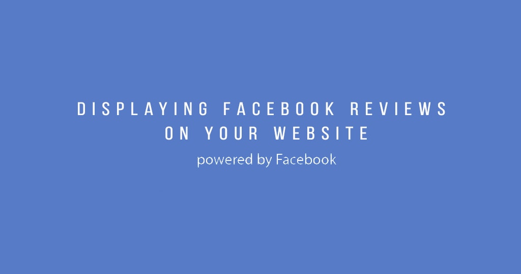 how to display facebook reviews on wordpress website