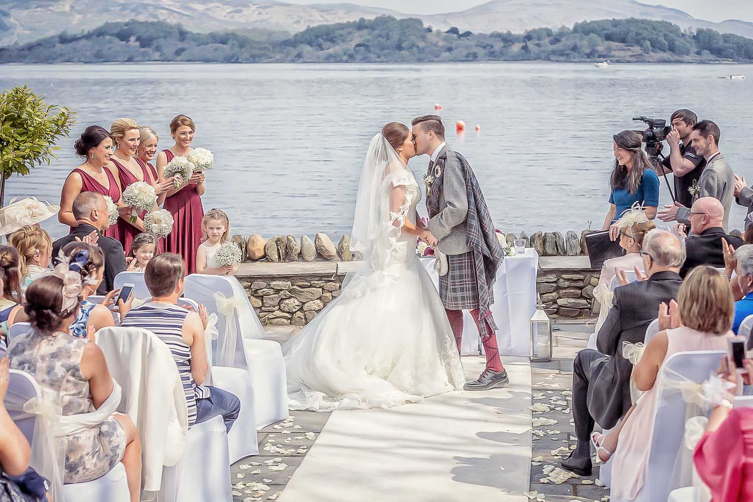If you are looking to add a traditional Scottish Ceilidh to your wedding, Skythorn are a great option as they do classic covers and ceilidh tunes!