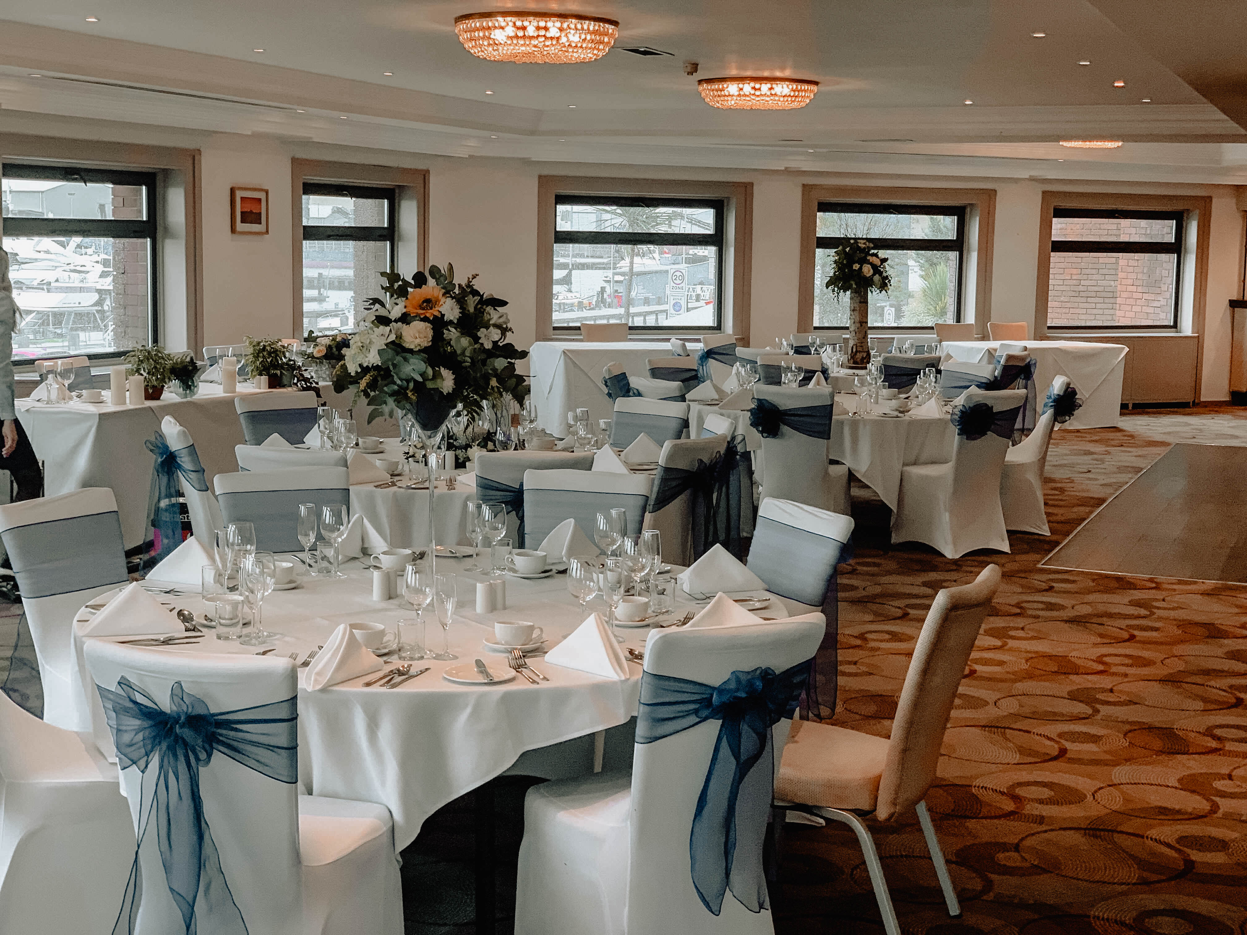 Excellent company who offer a variety of decorations - very flexible to all couples needs!