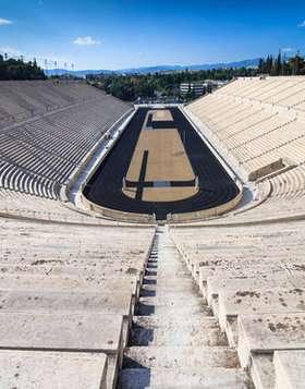 View center panathenaic stadium google