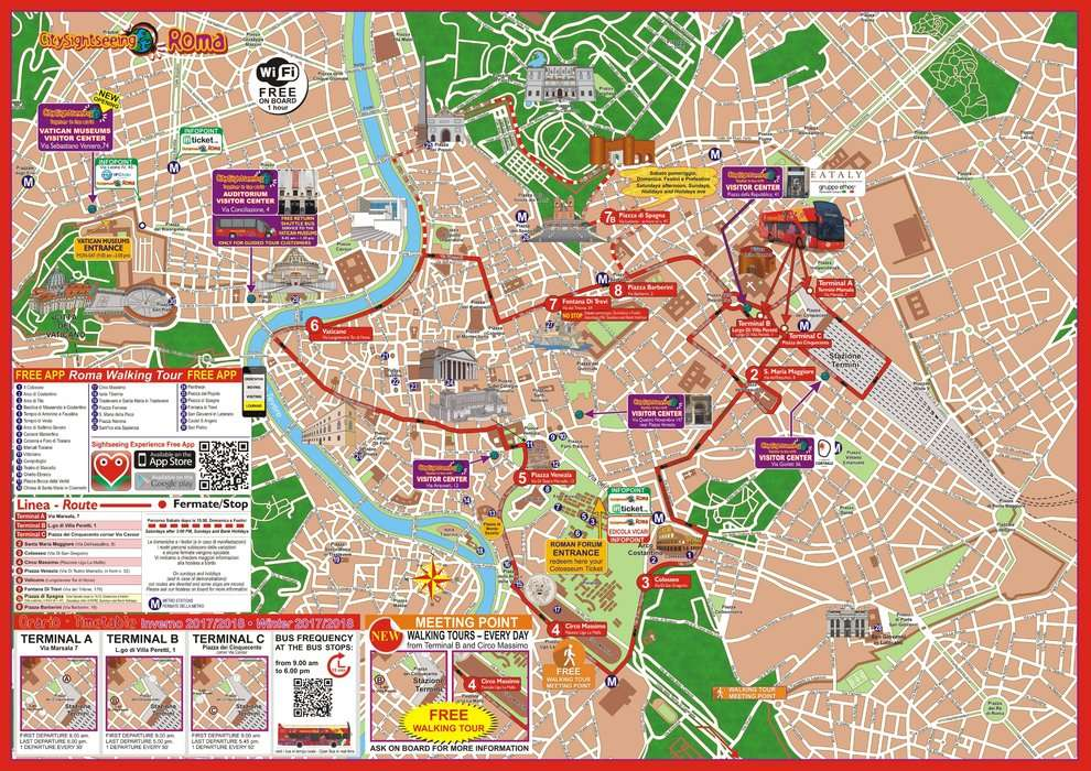 Popup rsz sightseeing experience rome bus map