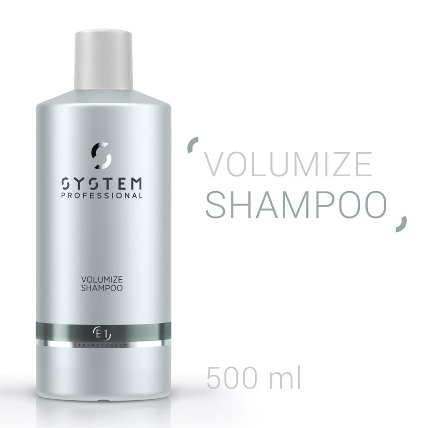 System Professional Volumize Shampoo 500ml