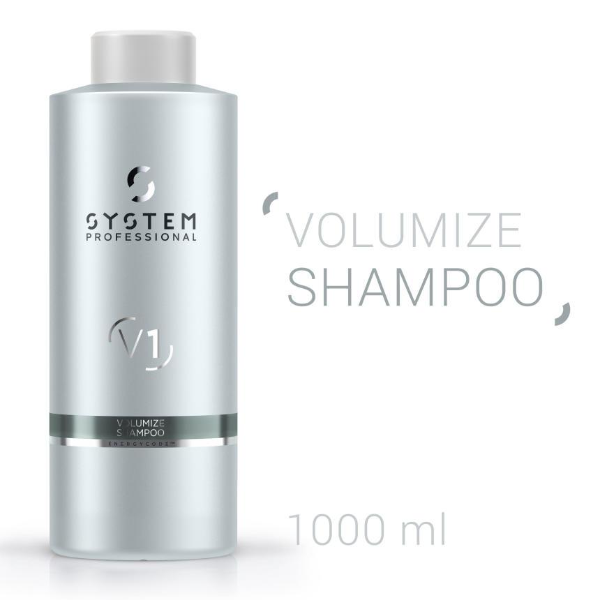 System Professional Volumize Shampoo 1000ml