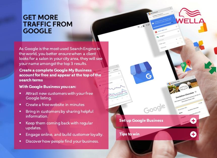Get more traffic from Google