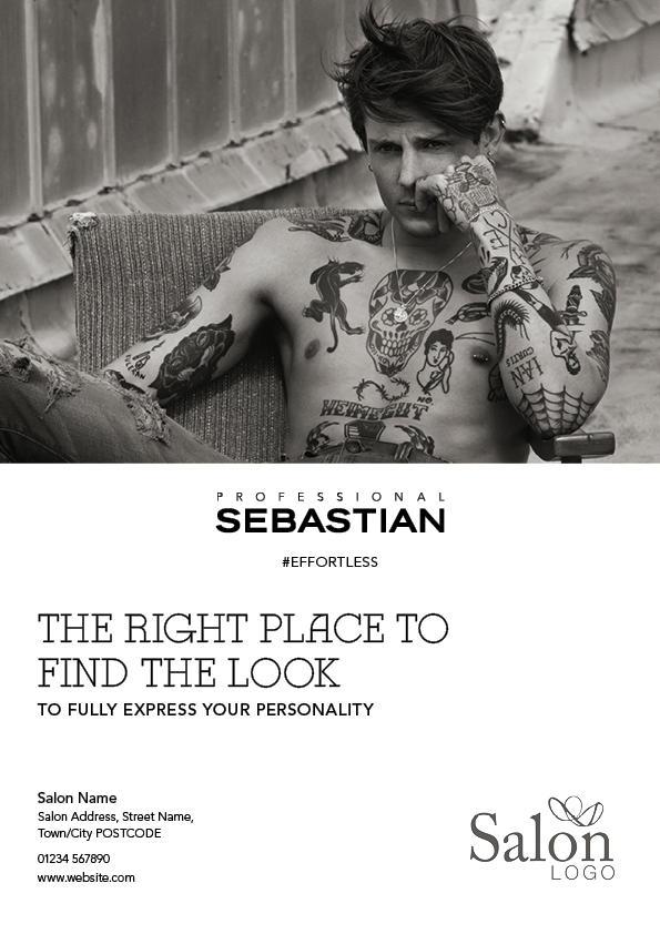 Sebastian Professional Effortless Advert 1 Front Preview