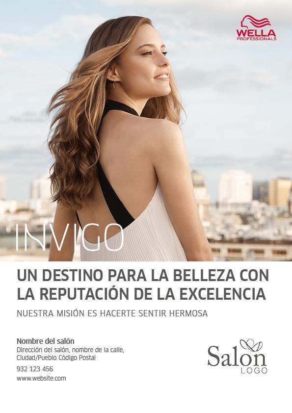Wella Professionals INVIGO Advert 2 Previsualización anverso