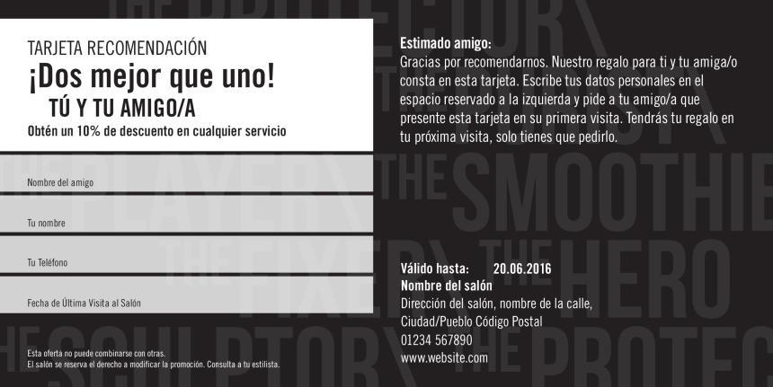 Seb Man Referral Card 2 Previsualización reverso