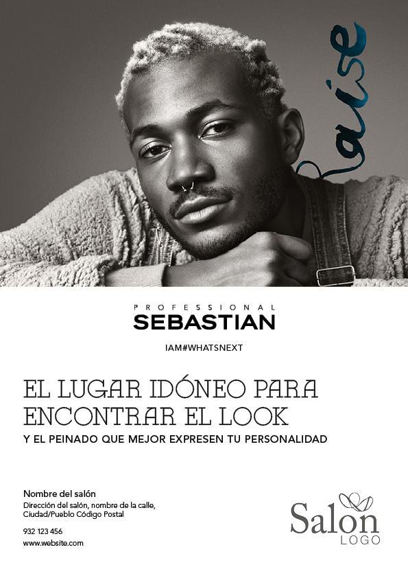 Sebastian Professional eVolution Advert 2 Previsualización anverso
