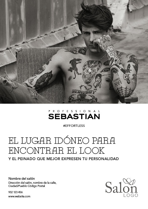 Sebastian Professional Effortless Advert 1 Previsualización anverso