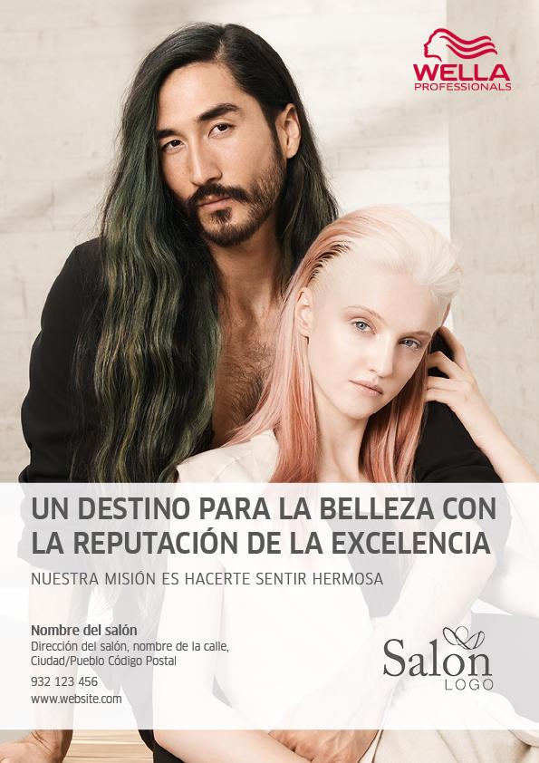 Wella Professionals SS18 Advert 2 Previsualización anverso