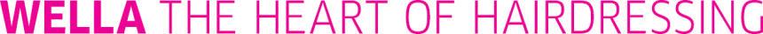 Wella logo with claim