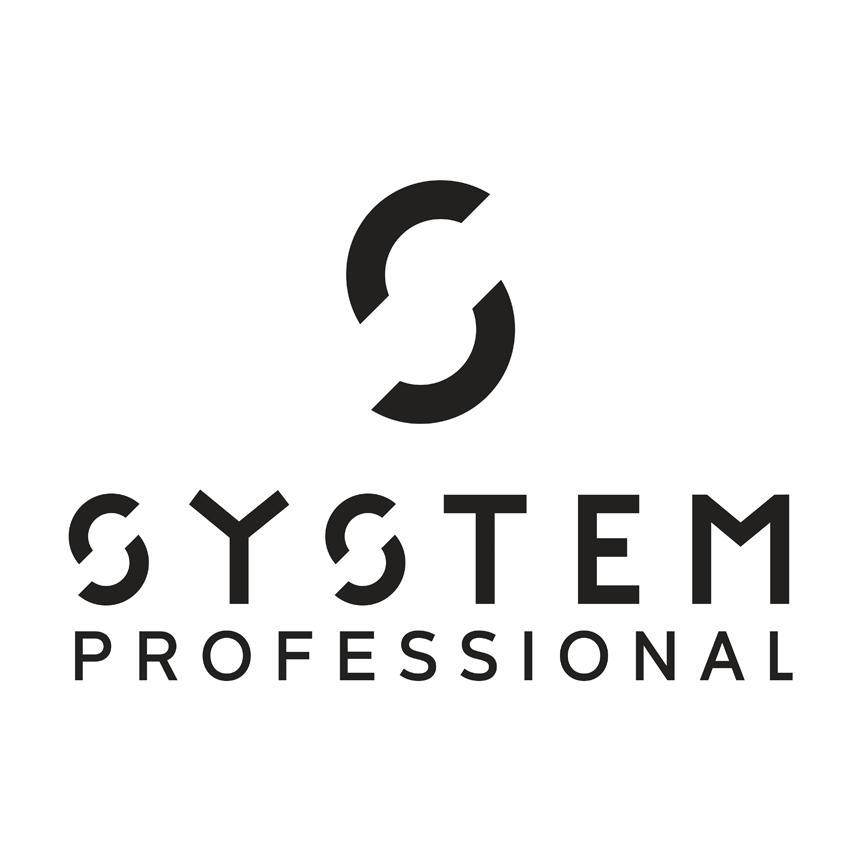 System Professional Logo Black