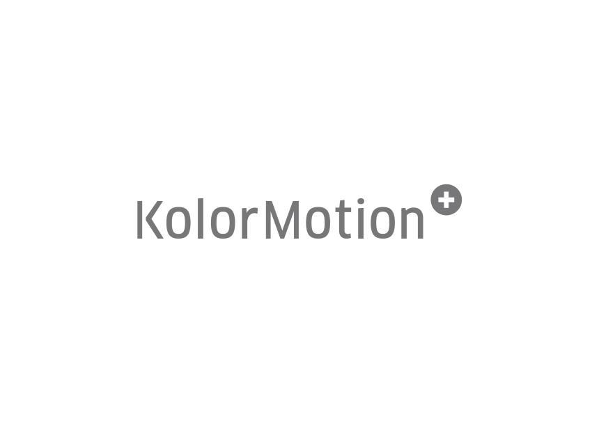 カラーモーション+ ブランドロゴ