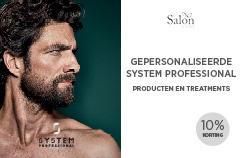 System Professional Man Offer Card Voorbeeldweergave voorzijde