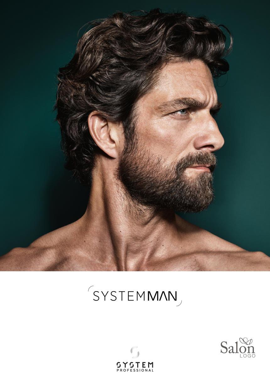 System Professional Man Poster Voorbeeldweergave voorzijde