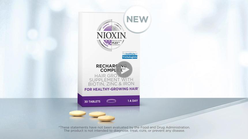 Nioxin Recharging complex video