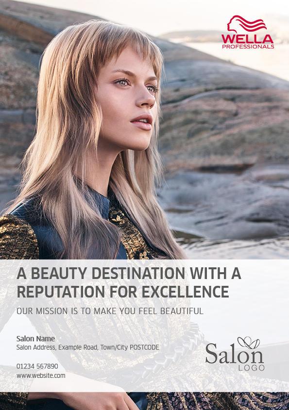 Wella Professionals Q1 Advert Front Preview