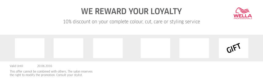 Master Color Expert Loyalty Card Back Preview
