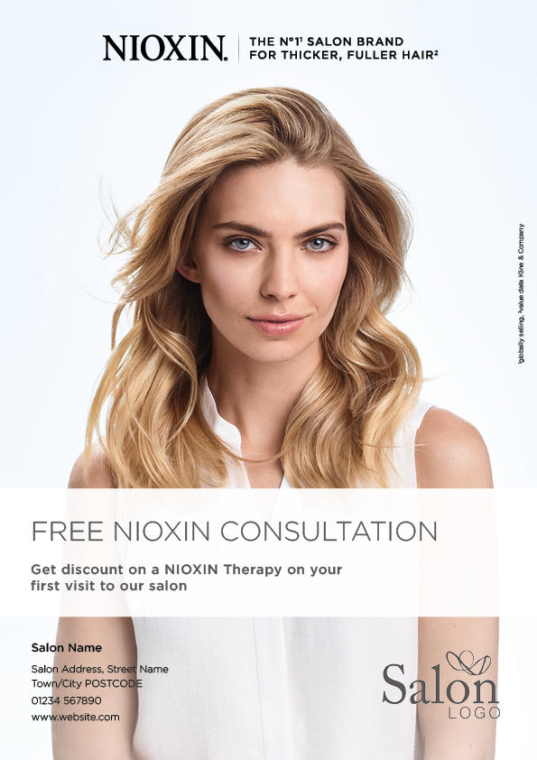 Nioxin Optimo 2 Advert Front Preview