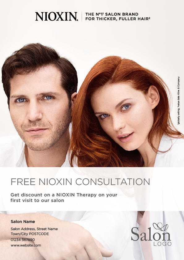 NEW Nioxin Advert Front Preview