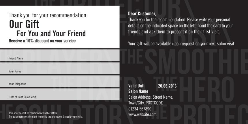 Seb Man Referral Card 1 Back Preview