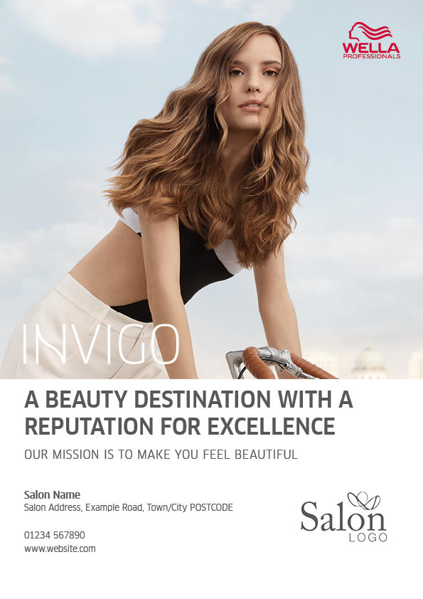Wella Professionals INVIGO Advert 1 Front Preview