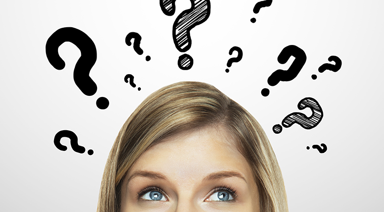 woman thinking question mark - Wellbeing Magazine