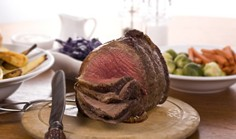 Christmas Organic Topside of Beef