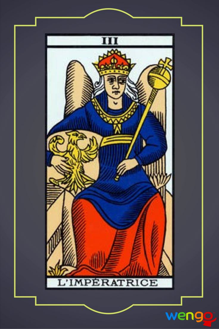 la emperatriz arcano