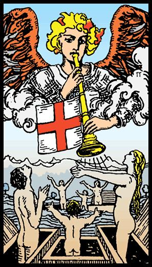 tarot mahkeme uyanış kartı