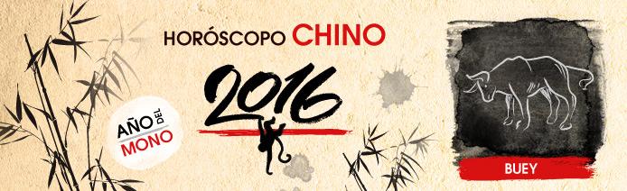 Horoscopo chino 2016 Buey