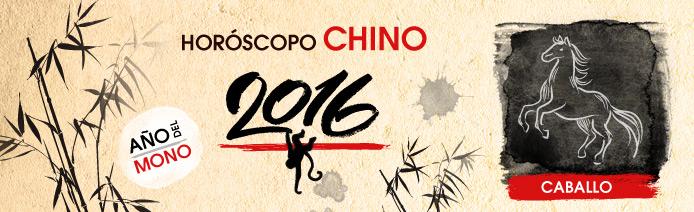 Horóscopo chino 2016 Caballo