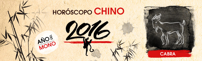horoscopo chino 2016 Cabra