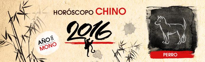 Horoscopo chino 2016 Perro