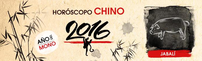 Horoscopo chino 2016 Cerdo