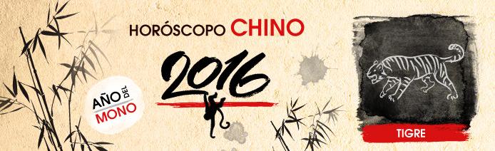 Horoscopo chino 2016 Tigre