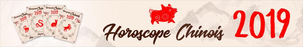 Horoscope chinois 2019